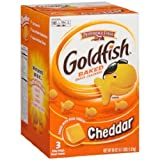 Pepperidge Farm Baked Goldfish Crackers - 3 ctn (Pack of 3)