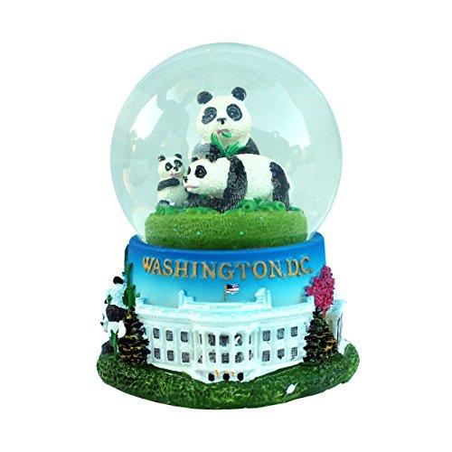 Washington DC Snow Globe: Pandas of the National Zoo