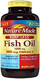 Nature Made Burpless Fish Oil 1200 mg with