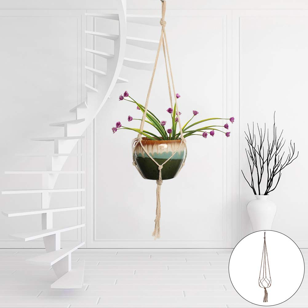 hwangli Elegant Plant Flowerpot Holder Basket Garden Decor