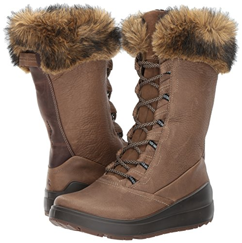 Pictures of ECCO Women's Noyce Tall Snow Boot 834603 Birch/Coffee 4