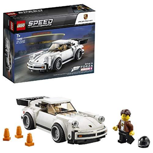 LEGO 75895 Speed Champions Porsche 911 Turbo 3.0 Forza Horizon 4 Building Set, 7+ Years