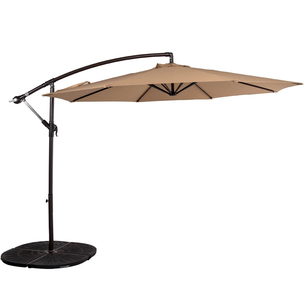 top 10 best offset patio umbrellas in 2017 reviews