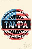 Tampa Travel Journal: Blank Travel Notebook (6x9), 108 Lined Pages, Soft Cover (Blank Travel Journal)(Travel Journals To Write In)(US Flag)