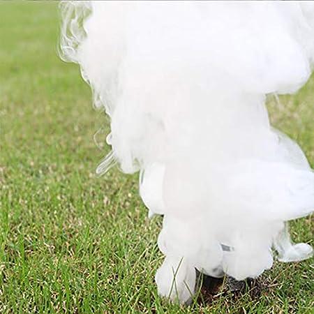 1Pcs Blue ICECHAN Colorful Magic Smoke Tricks Props Fire Tips Fun Toy Pyrotechnics Smoke Cake Fog Magician New Professional Pocket Items