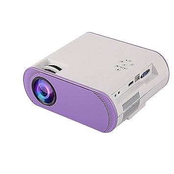 HongLianRiven Proyector de vídeo portátil, 1024x768dpi, 3000 ...