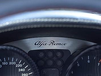 Interieur Stahlabdeckung Für Alfa Romeo Gtv Spider 916 1 Stück Instrumententafel Emblem Platte Zubehör Edelstahl Gebürstet Blenden Cockpit Dekor Mass Angefertigt Auto
