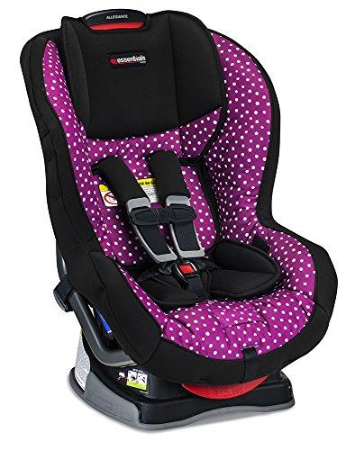 Britax Allegiance Convertible Car Seat - 5 to 65 Pounds - Rear & Forward Facing - 1 Layer Impact Protection, Confetti (Britax Pink Car Seat)