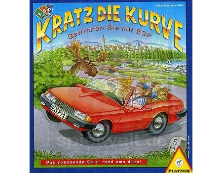 Piatnik Deutschland 642593 - Kratz die Kurve