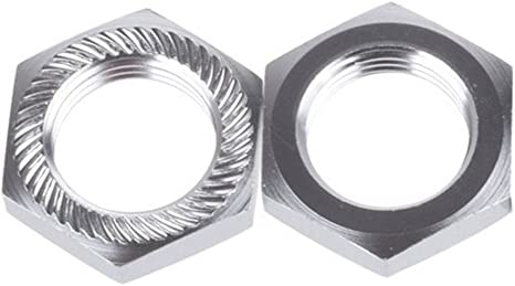 4x Aluminum Wheel Hub Cover 17mm Hex Nut for RC 1//8 Model Car Upgrade Parts