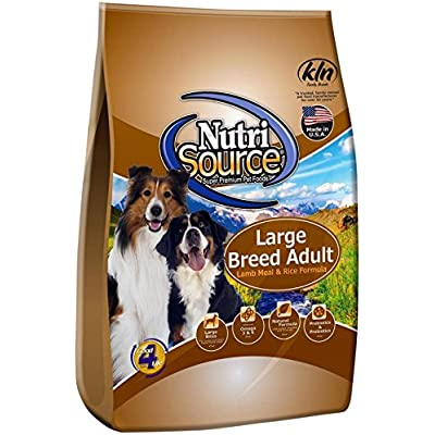 Tuffy'S Nutrisource 30-Pound Chicken And Rice Formula Breed Dry Puppy Food, Small/Medium