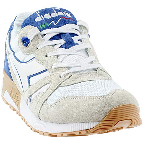 Diadora Unisex N9000 III White/Princess Blue 13 Women / 11.5 Men M US