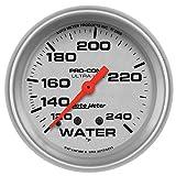 "Auto Meter 4432 Ultra-Lite 2-5/8"" 120-240 F Mechanical Water Temperature Gauge"