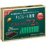 明治 チョコレート効果カカオ72% 26枚入り×6個 ×3セット