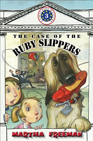 book cover of The Case of the Ruby Slippers