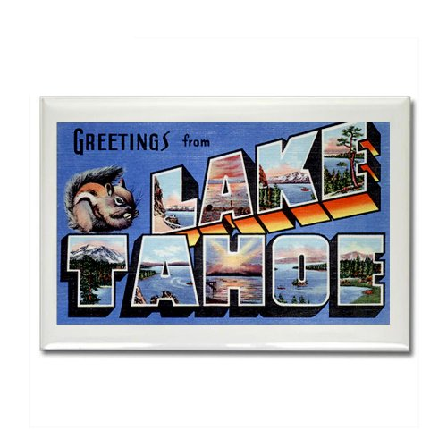 CafePress - Lake Tahoe Nevada NV Rectangle Magnet - Rectangle Magnet, 2