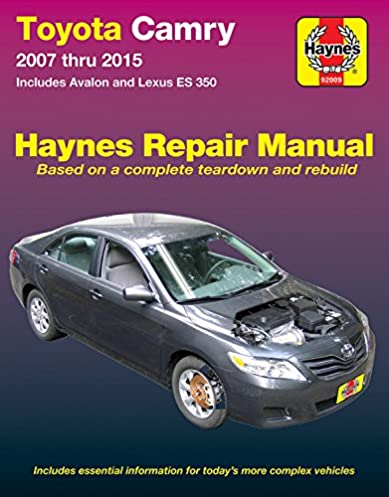 toyota camry avalon lexus es 350 2007 2015 does not include rh amazon com toyota camry hybrid repair manual 2007.pdf 2008 toyota camry hybrid repair manual
