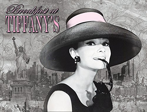 Audrey Hepburn Light up Canvas Print With LED Lights - Breakfast at Tiffany's