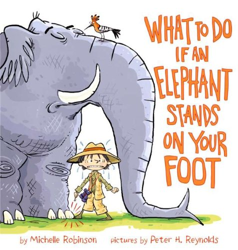 What To Do If an Elephant Stands On Your (Two African Elephants)