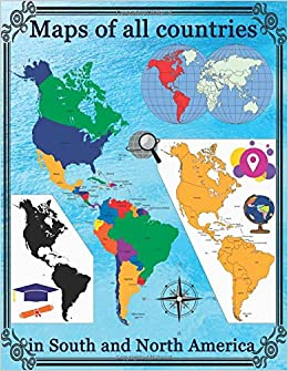 Maps of all countries in North and South America: Smart ...