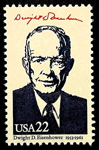 Amazon Dwight D Eisenhower 1953 1961 President USA Framed