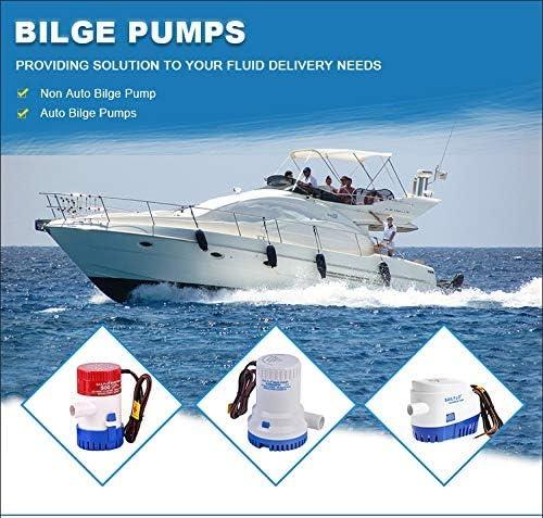 Z1 Rule Bilge Pump 2000 gph 12V Marine Boat Sailing Pond Water Pump