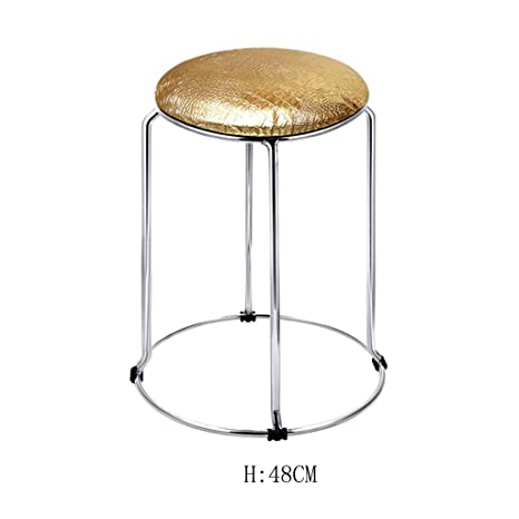 Excellent Amazon Com Hetao Creative Modern Kitchen Stools With Metal Caraccident5 Cool Chair Designs And Ideas Caraccident5Info