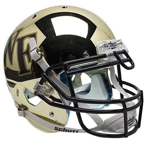 Wake Forest Demon Deacons Chrome Officially Licensed XP Authentic Football Helmet ()