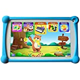 Kids Tablet, B.B.PAW 7 inch 1G+8G Android Tablet with Additional 120+ English Preloaded Learning&Training Apps for Kids
