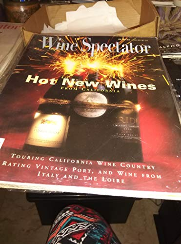 Wine Spectator Issue June 15, 1996 Hot New Wines From California (Touring California Wine Country, Rating Vintage Port, and wine from Italy and the Loire)