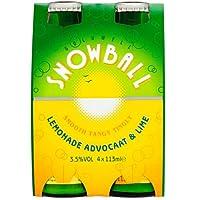 Snowball Lemonade, Advocaat & Lime (24 x 113ml Bottles)