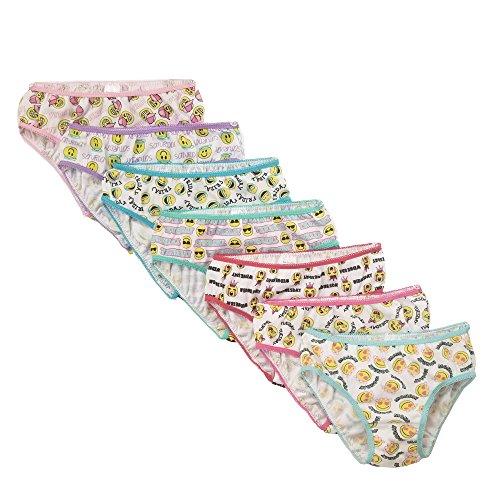 Popular Girls 100% Cotton Bikini Panty Underwear - Pack of 7