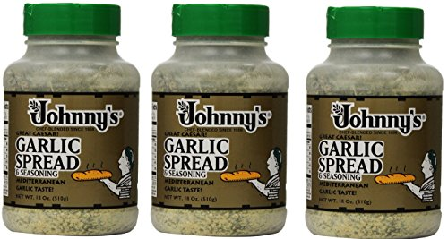 Johnnys Garlic Spread and Seasoning MaDOBD, 3Pack (18 Ounce) ()
