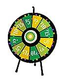 12 Slot Tabletop Prize Wheel (31 Inch Diameter)