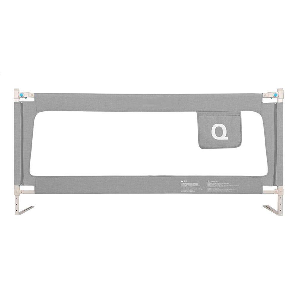CHUNLAN ベッドガードレール 折りたたみ式のベッドガードレイルで簡単にアクセスでき、スペースを節約し、赤ちゃんの健康的な成長を守ります (色 : Gray, サイズ さいず : 180 * 82cm) 180*82cm Gray B07JVB7TTS
