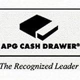 APG Cash Drawer T554A-BL16195-C Series 100 Cash Drawer Adjustable Media Slot 554 USBPRO II Interface and 16 Inch x 19 Inch - CRST - Color Black