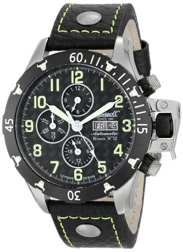 Ingersoll Men's IN2803BGR Bison Number 12 Automatic Green Accent Watch