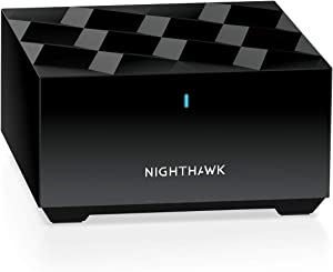 NETGEAR Nighthawk Whole Home Mesh WiFi 6 Add-on Satellite (MS60) – add up to 1,500 sq. ft. of Coverage
