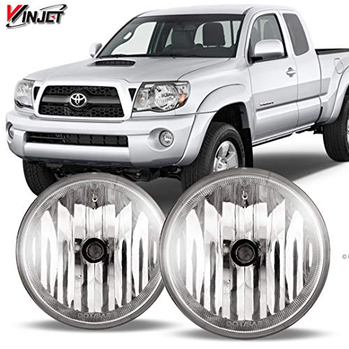2005 Oem Fog Lights - WINJET 05-11 Toyota Tacoma Fog Light, Clear(Wiring Kit Included