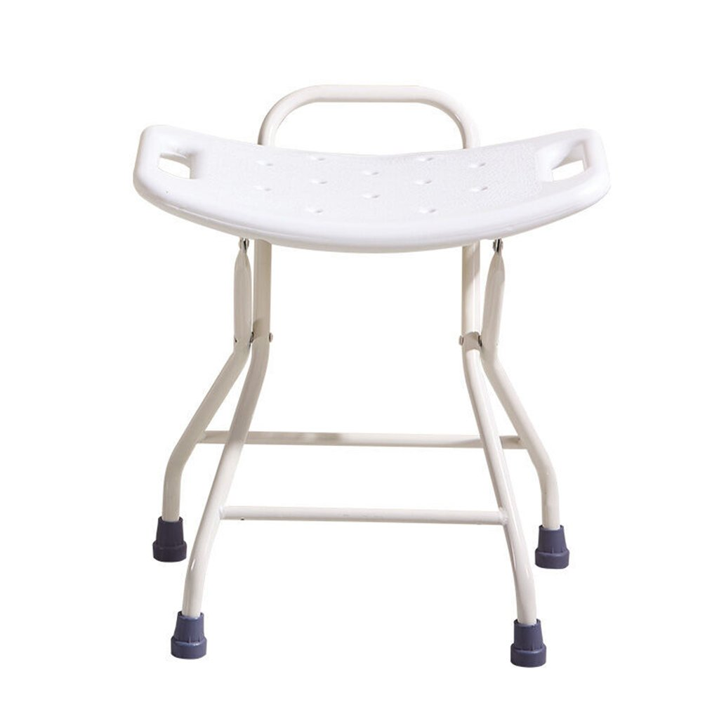 GRJH® バスチェア、パーソナリティ折り畳み式バスルーム老人妊婦シャワーチェア 防水,環境の快適さ   B07999CRQ5