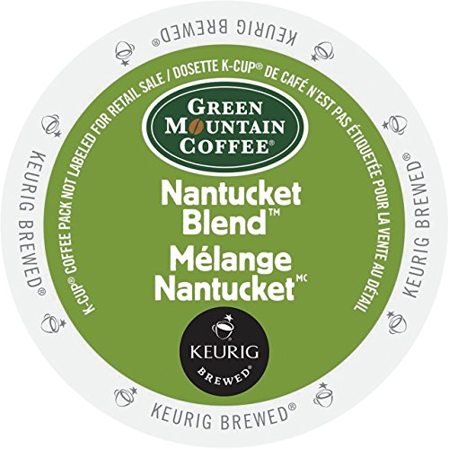 Nantucket Blend K-cup (Green Mountain Coffee Nantucket Blend K-Cup Packs - 36 Count (Packaging May)