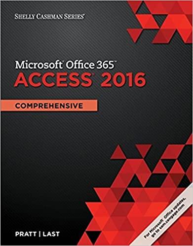 Shelly Cashman Series Microsoft Office 365 & Access 2016: Comprehensive (MindTap Course List)