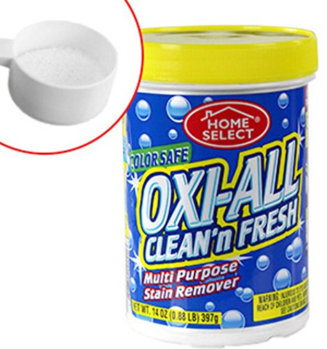 Oxi-All Multi-Purpose Stain Remover Clean And Fresh - Great For Laundry, Carpets, Kitchen And Bathrooms Fabric Furniture And Much More, Stains come out almost like magic! - Chlorine Free - Color Safe (Stain Removal Mildew)