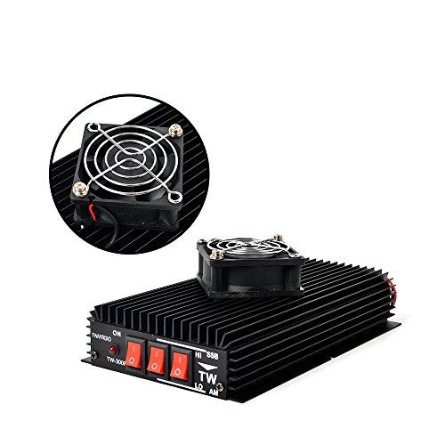 TWAYRDIO TW-300N HF Transceiver Radio Power Amplifier 15/12/10 Meters for Handheld Ham Radio HF Two Way Radio with Cooling Fan