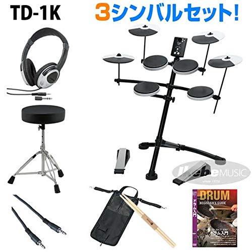 Roland《ローランド》 TD-1K 3-Cymbals Basic Set【イケベオリジナルスターターセット】   B07QGDYQDL