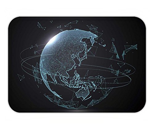 Beshowere Doormat futuristic globalization interface a sense of science and technology abstract graphics
