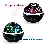 Moredig Star Night Light Projector, 8 Colors