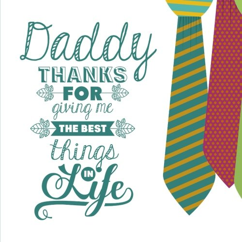 Download Dad, Thanks for the Best Things in Life: Fathers Day Card, X-Large Card/Notebook ebook