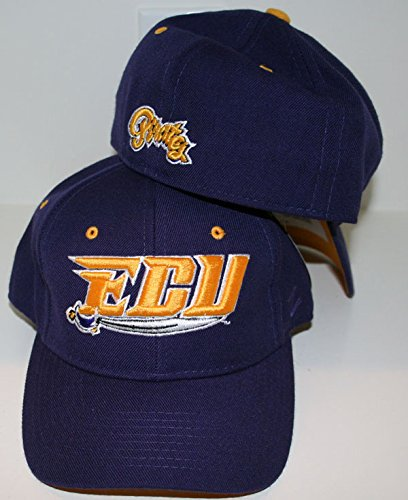 pretty nice 05188 e8b81 Amazon.com   Zephyr East Carolina University ECU Pirates Purple DH  Youth Boys Fitted Baseball Hat Cap Size 7 1 4   Sports   Outdoors