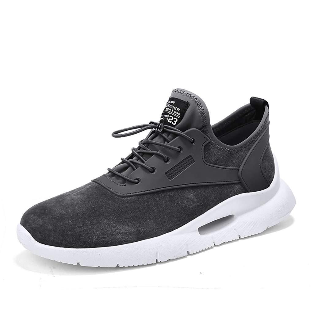 TTRR Zapatillas de Cuero otoño versión Coreana de la Tendencia 2018 nuevos Zapatos de Marea Corriente Salvaje Zapatos Transpirables Estudiante: Amazon.es: ...